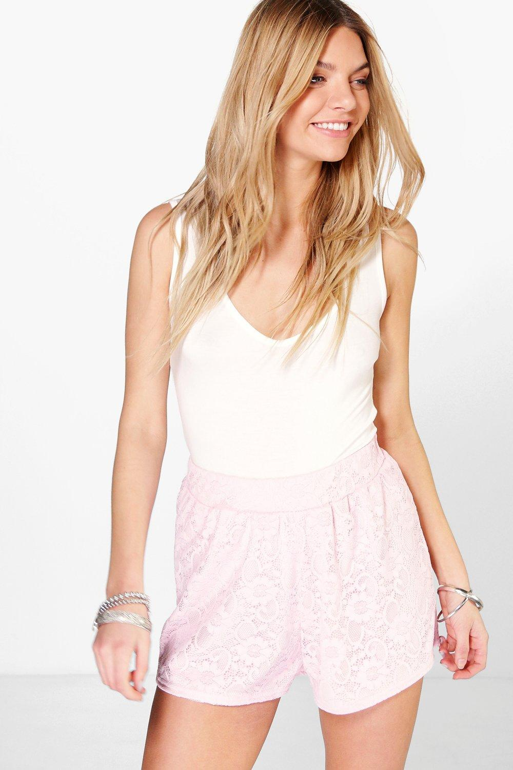 Ava All Over Lace Flippy Shorts