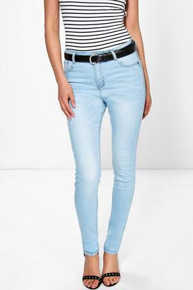 Lucy High Waisted Skinny Jeans