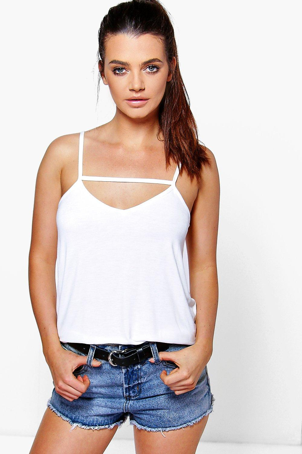 Nicole Strap Front Swing Cami