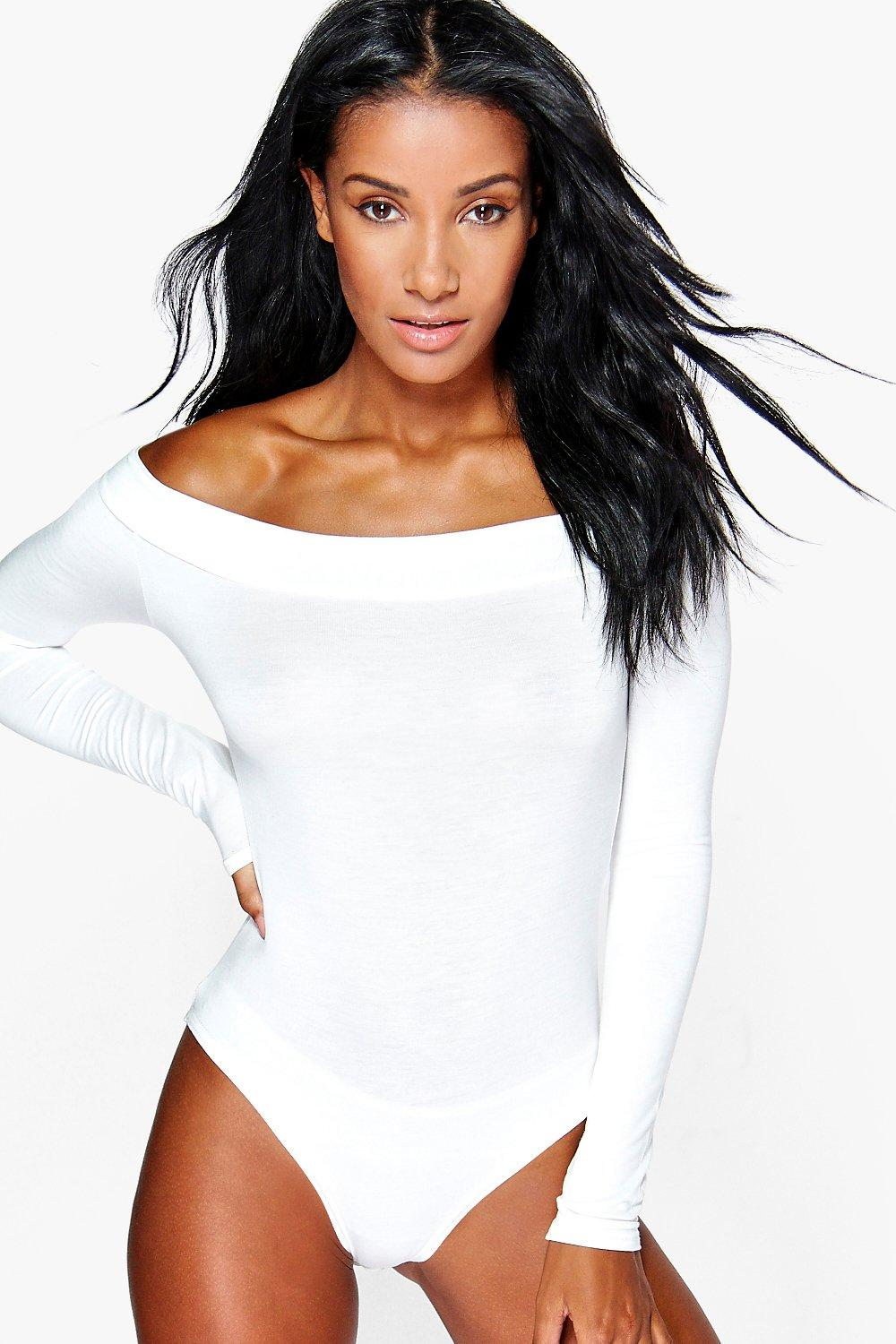 Megan Off The Shoulder Long Sleeve Body