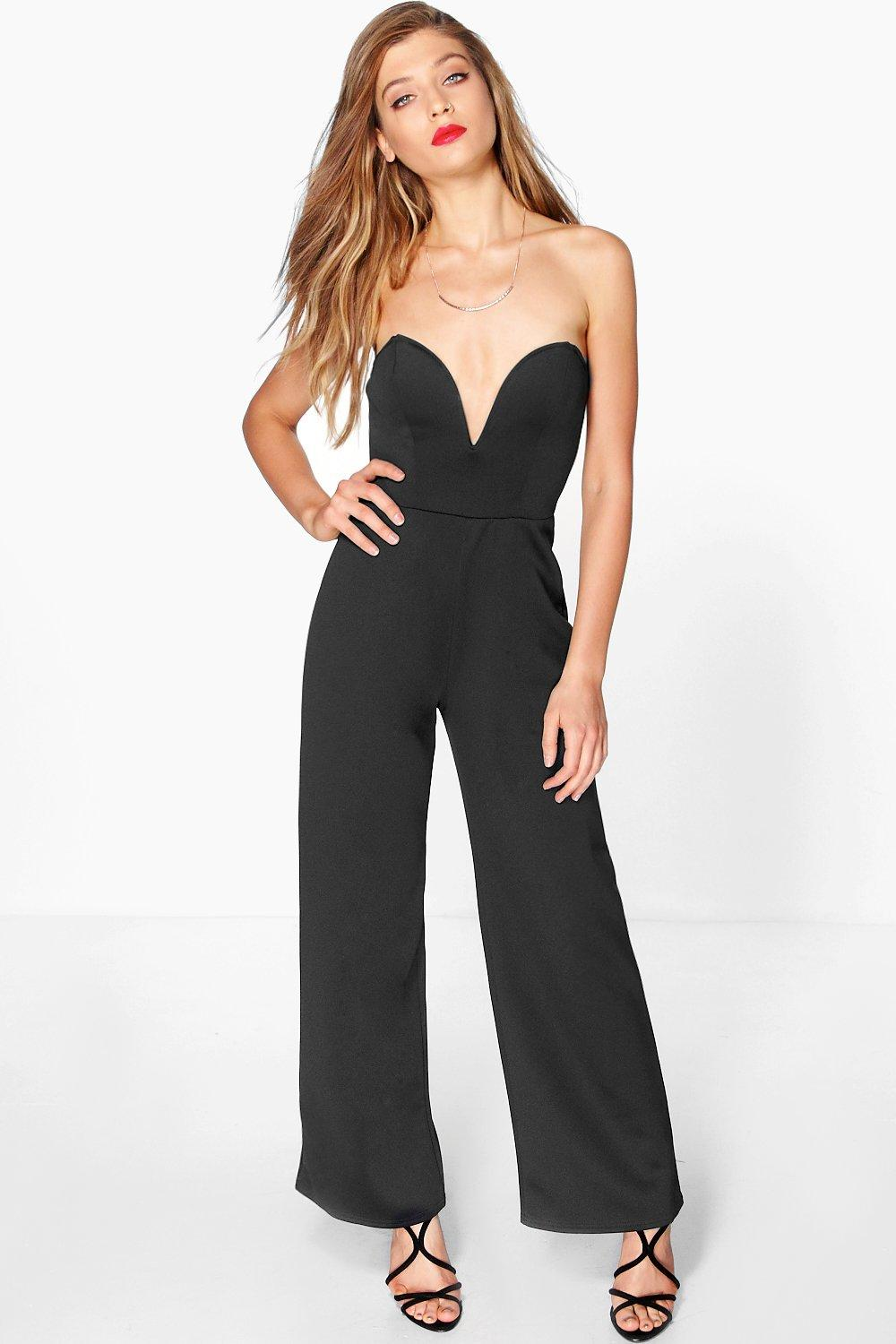 Mia Bardot Sweetheart Wide Leg Jumpsuit
