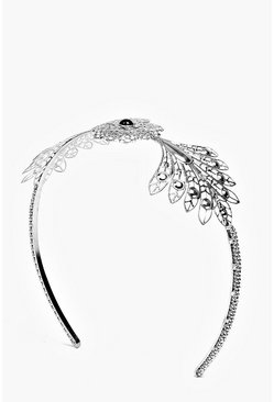 Lacey Ornate Winged Mermaid Stone Headband