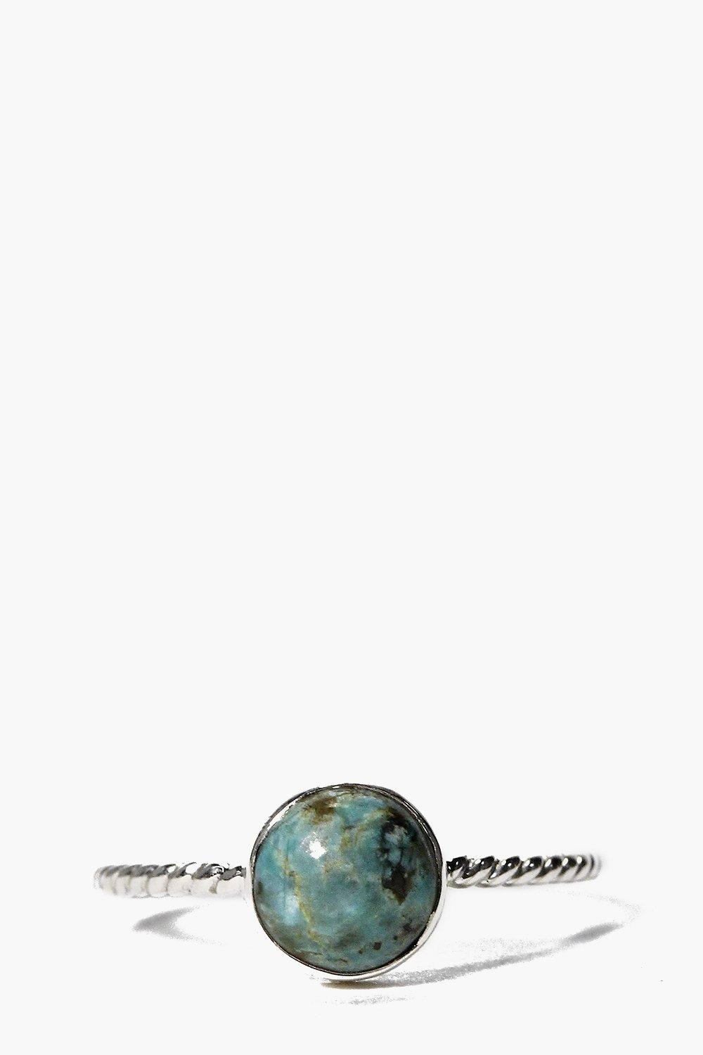 Boutique Sterling Silver Turquoise Ring