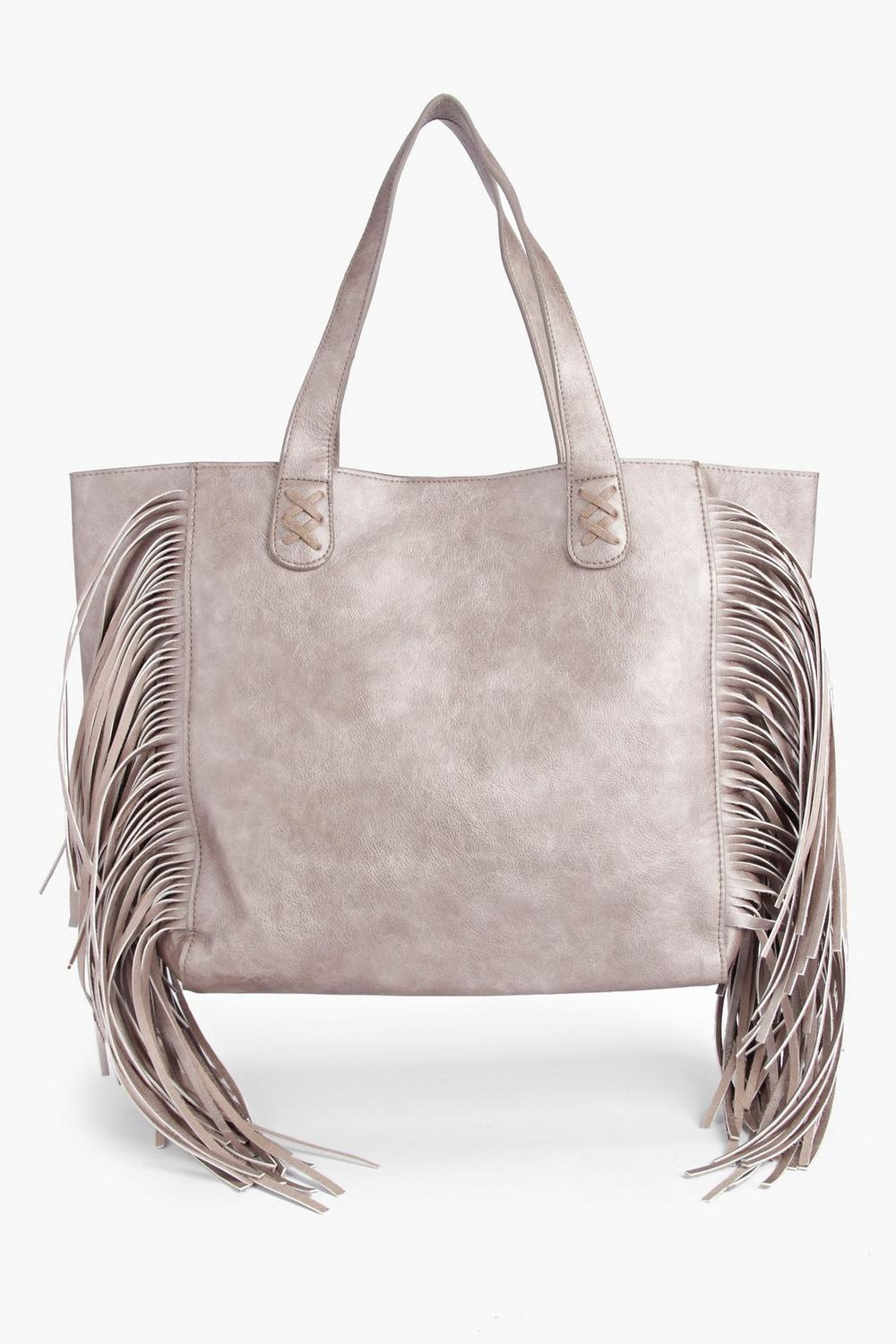 Boutique Laura Tassel Side Shopper Bag