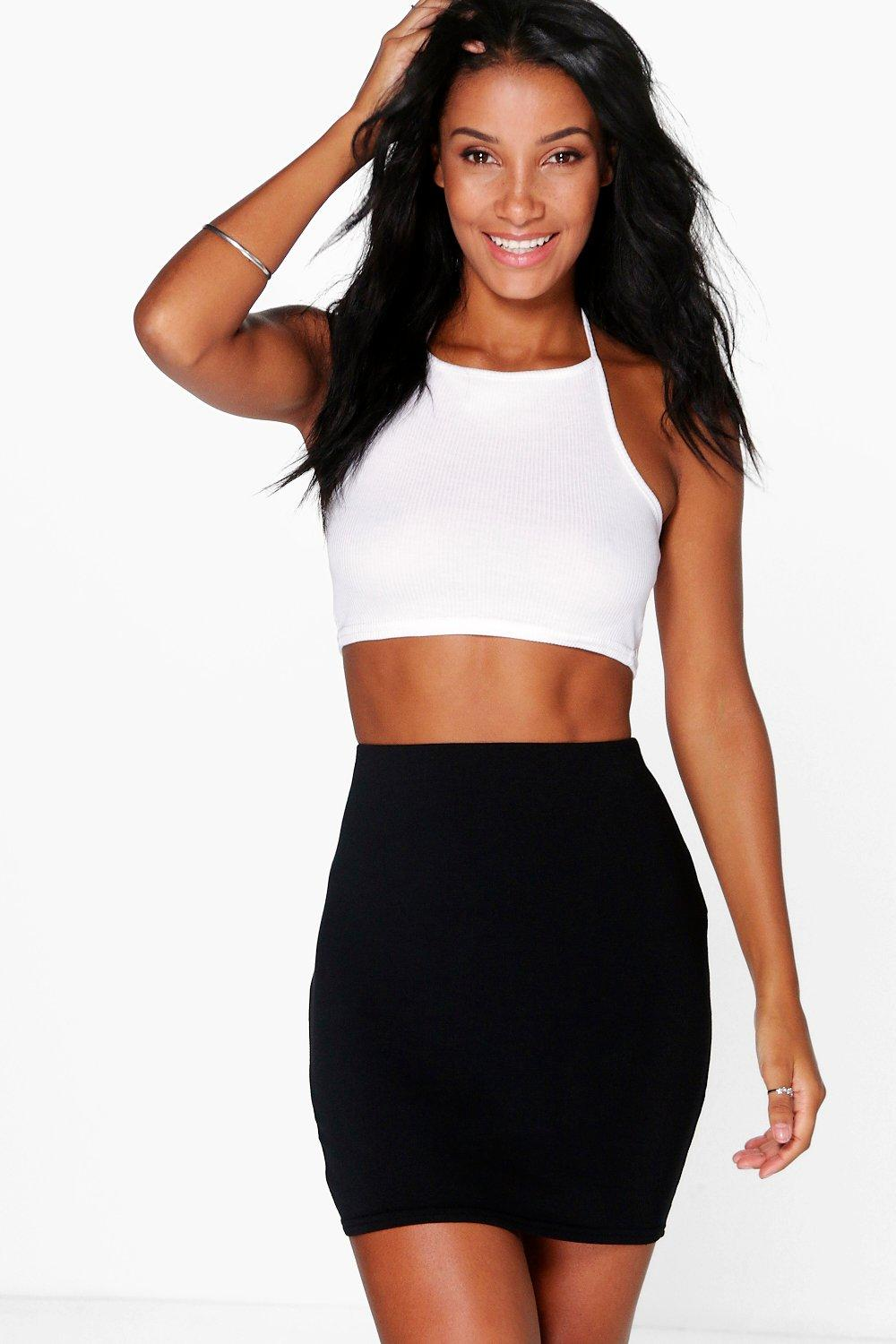 Aaoife Basic Jersey Mini Skirt