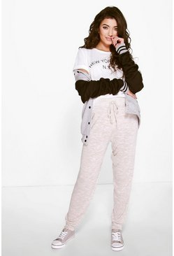 Bella Marl Knitted Relaxed Jogger