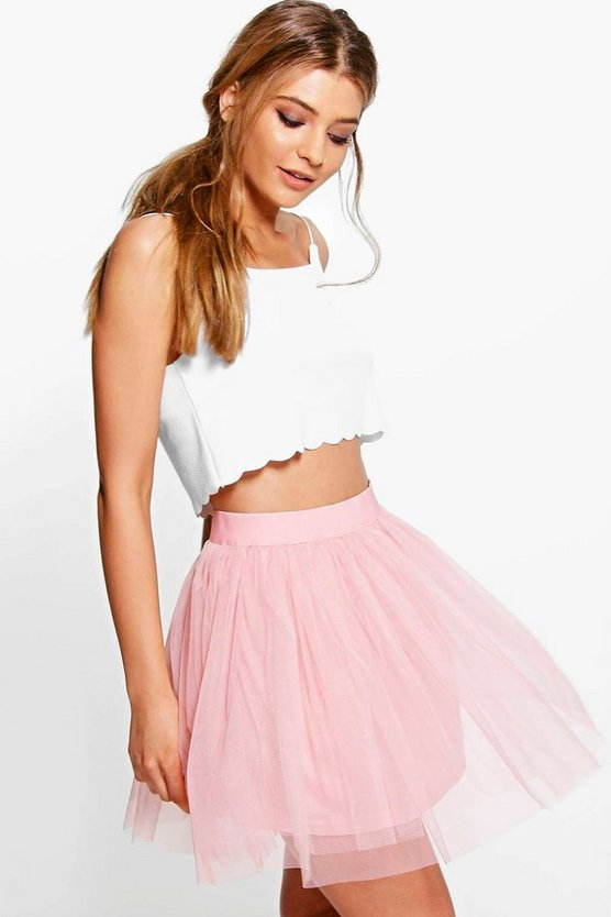 Zaine Mini Tulle Full Skirt