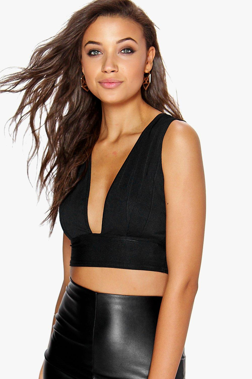 Holly Bandage Plunge Bralet