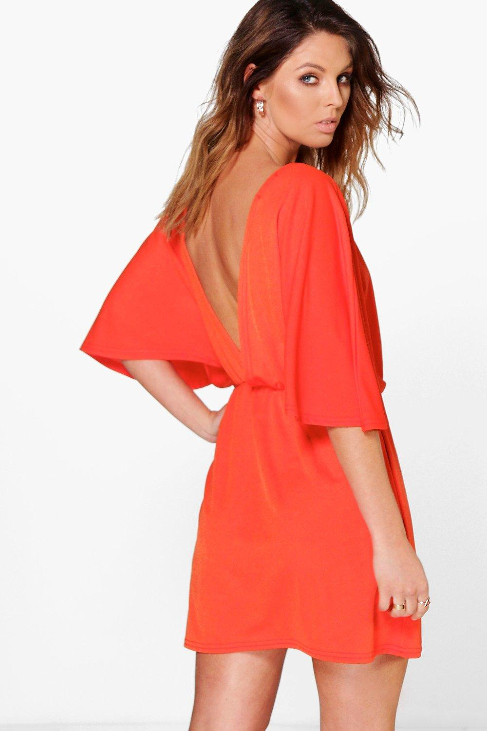 Sore Strappy Back Shift Dress