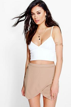 Rosina Solid Colour Crepe Skort