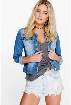 Amelia Slim Fit Denim Jacket