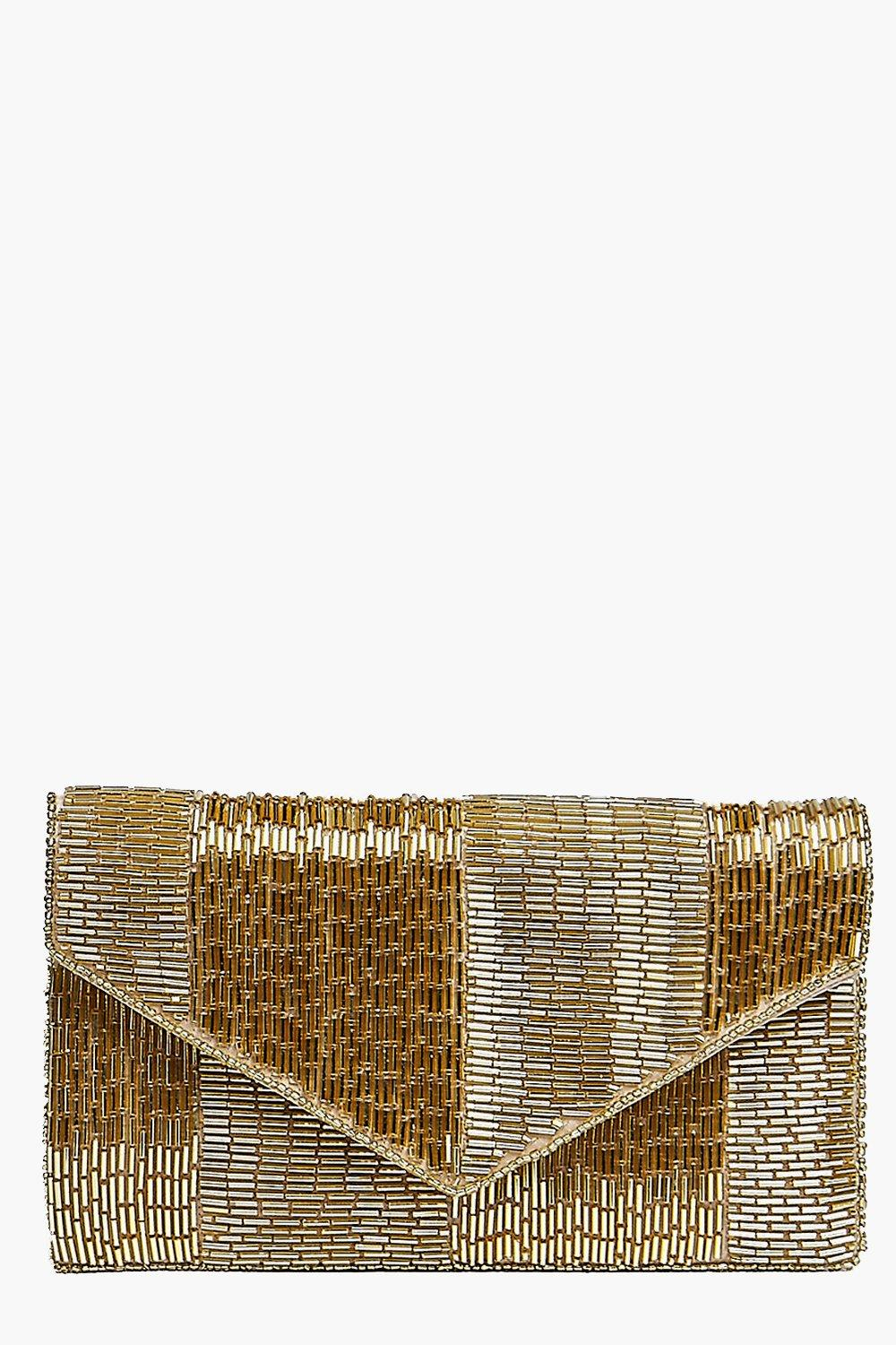 Alice All Over Beaded Clutch Bag