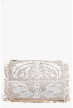 Rebecca Embroidered Clutch Bag