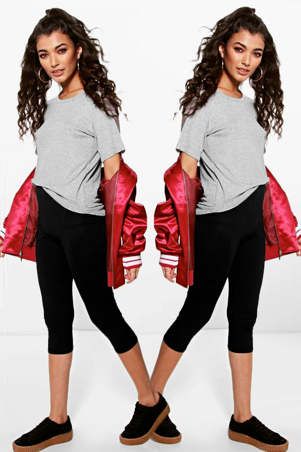 Amara 2 Pack Cropped Leggings