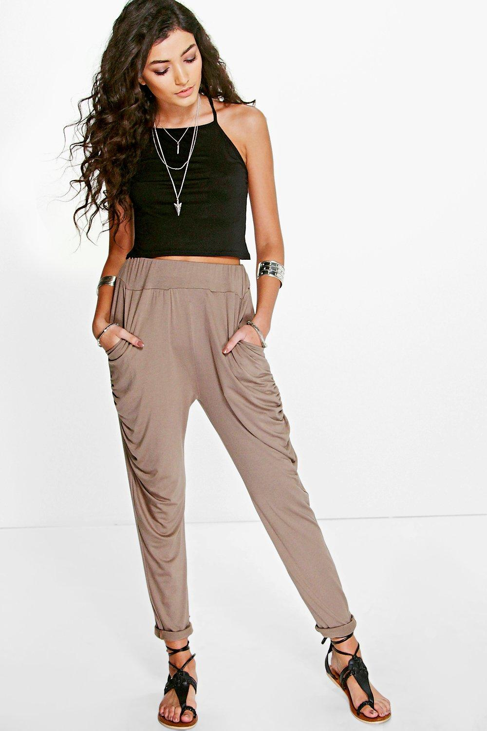 Nora Drape Side Basic Viscose Joggers