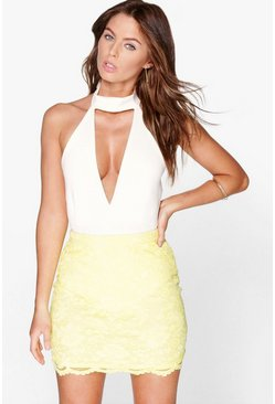 Annia Lace Mini Skirt