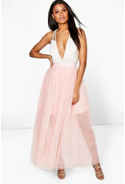 Boutique Lyssa Full Length Tulle Skirt