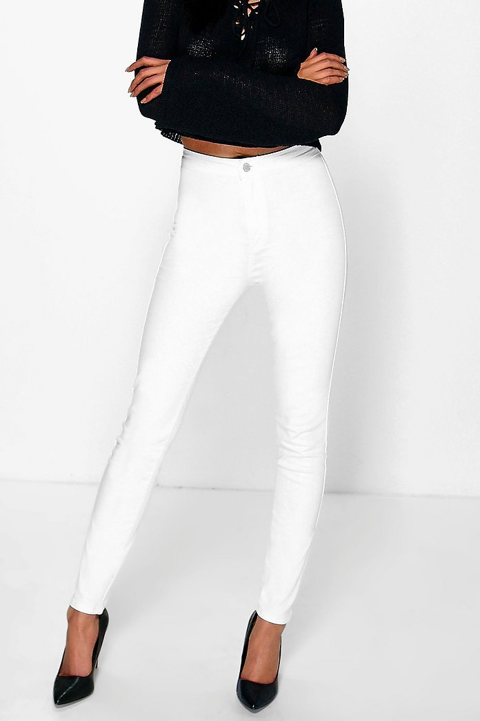 Eve High Rise Skinny Tube Jeans