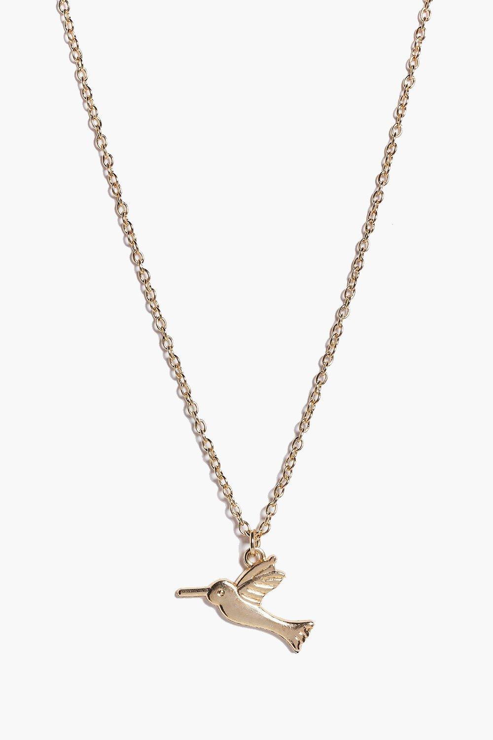 Caroline Skinny Pendant Necklace