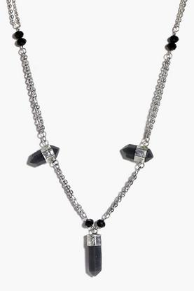 Ella Multi Stone Skinny Necklace