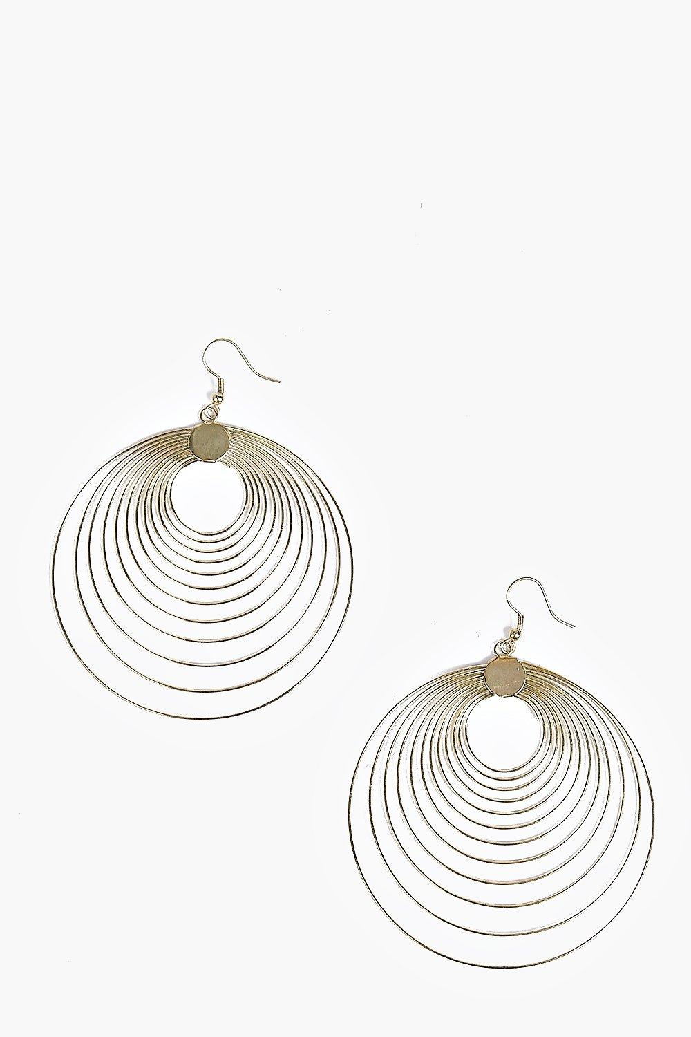 Matilda Layered Hoop Statement Earrings