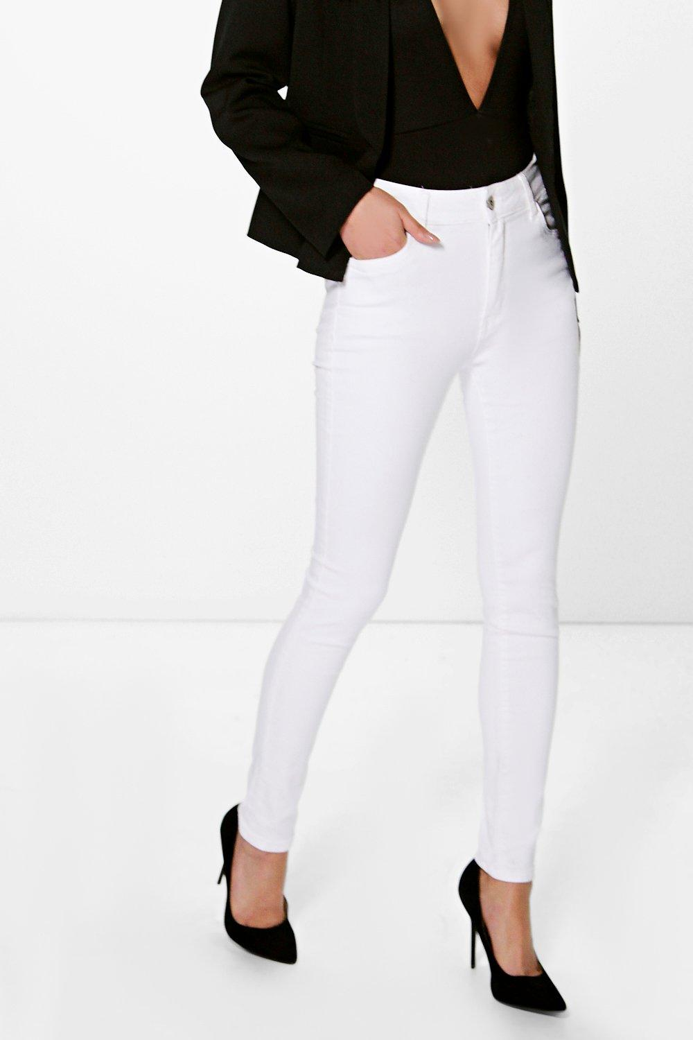 Helena Mid Rise Skinny Jeans