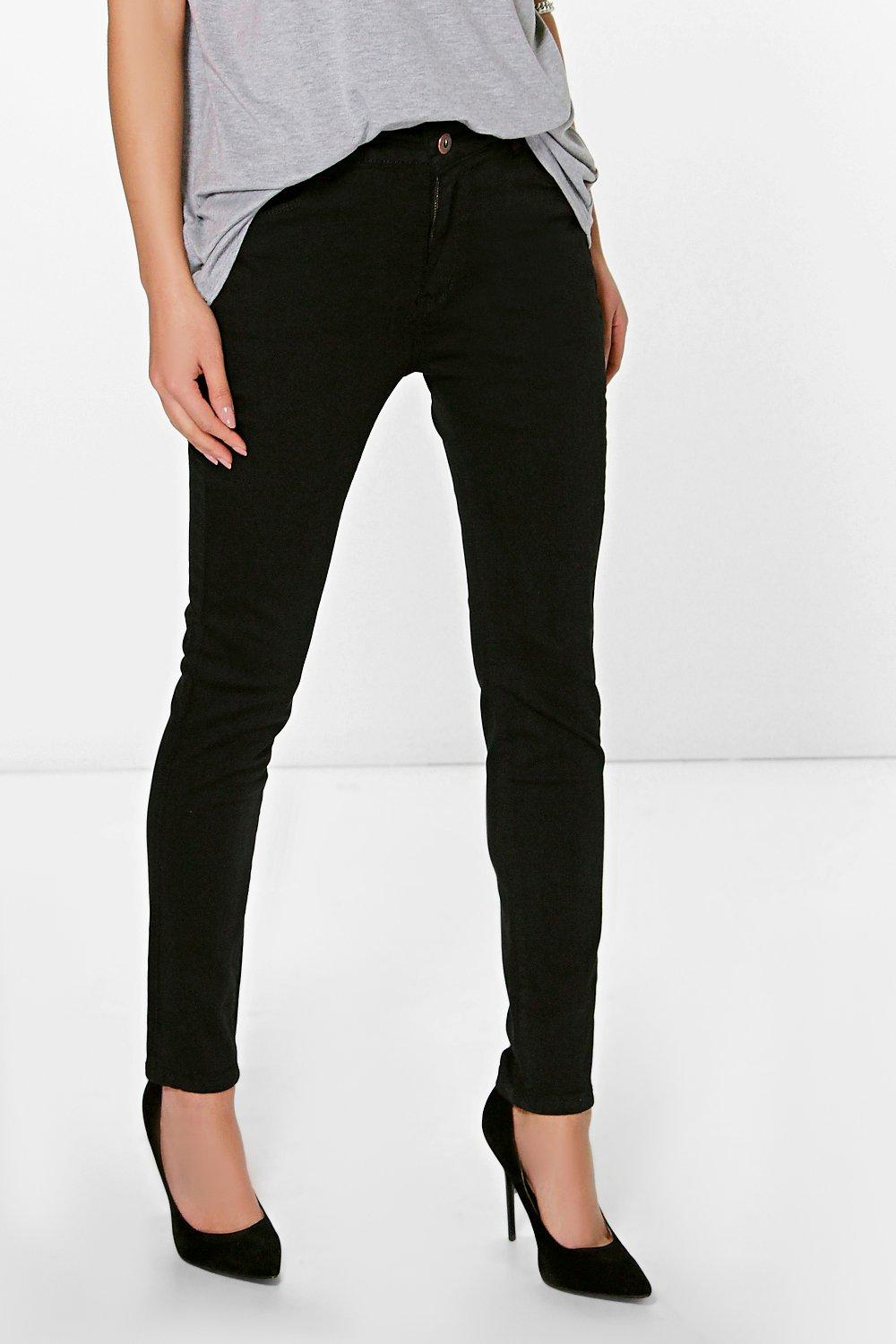 Ria Mid Rise Skinny Jeans