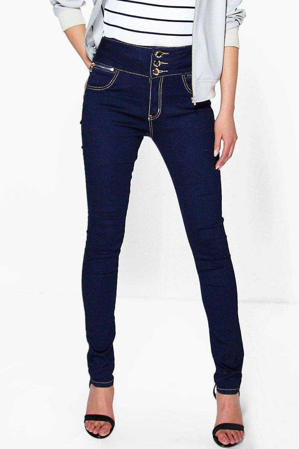 Katie High Rise Skinny Jeans