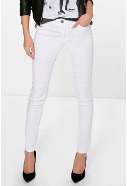 Louise Mid Rise Skinny Jeans