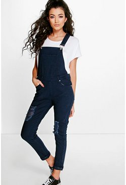Cara Slouch Denim Dungaree