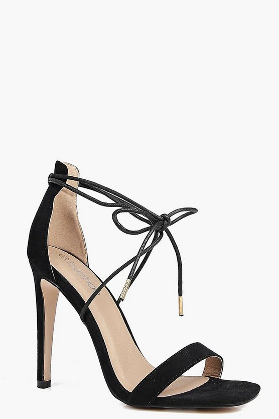 Nina Wrap Strap Two Part Sandal