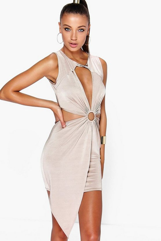Rachel Cut Out Ring Mini Dress