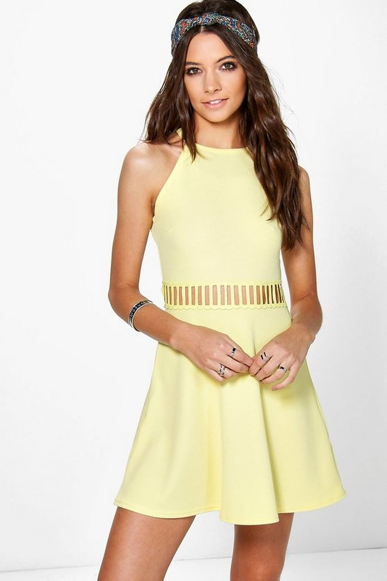 Maisie Cut Out Swing Dress