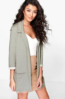 Mia Jacquard Textured Jacket