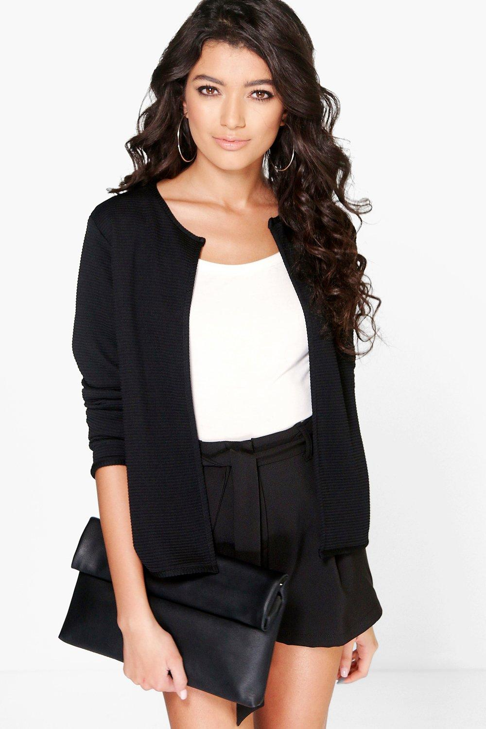 Sophie Edge To Edge Rib Jacket