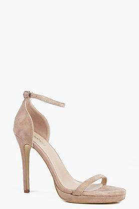 Elizabeth Single Platform Two Part Heels