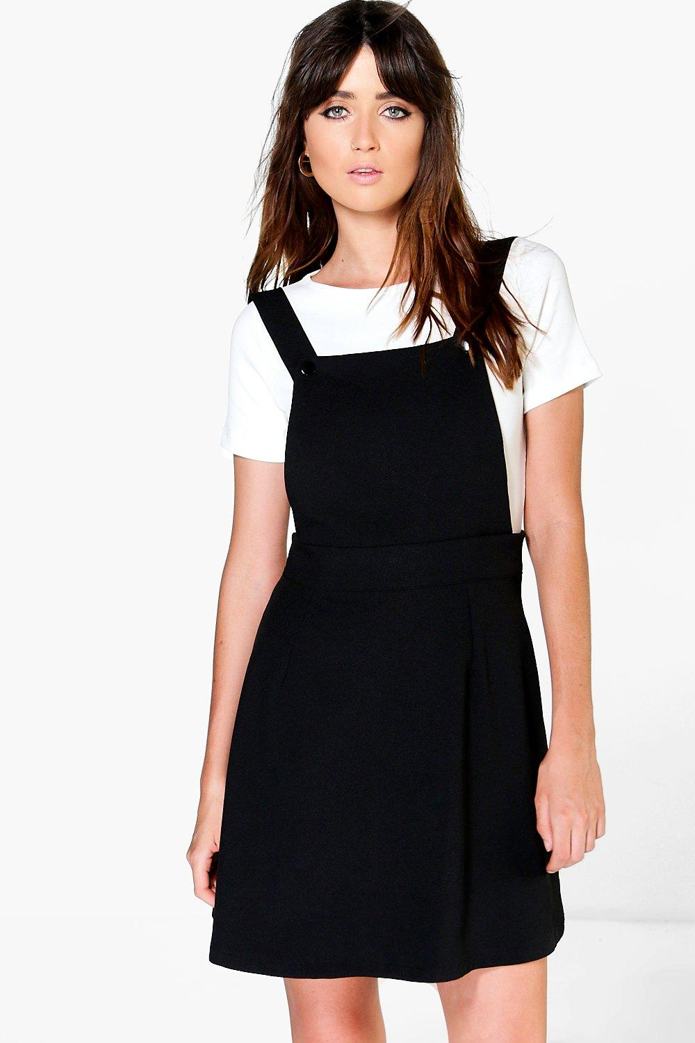 Layla Tailored Pinafore Mini Dress