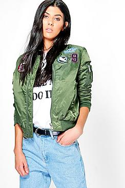 Lauren Badge MA1 Bomber