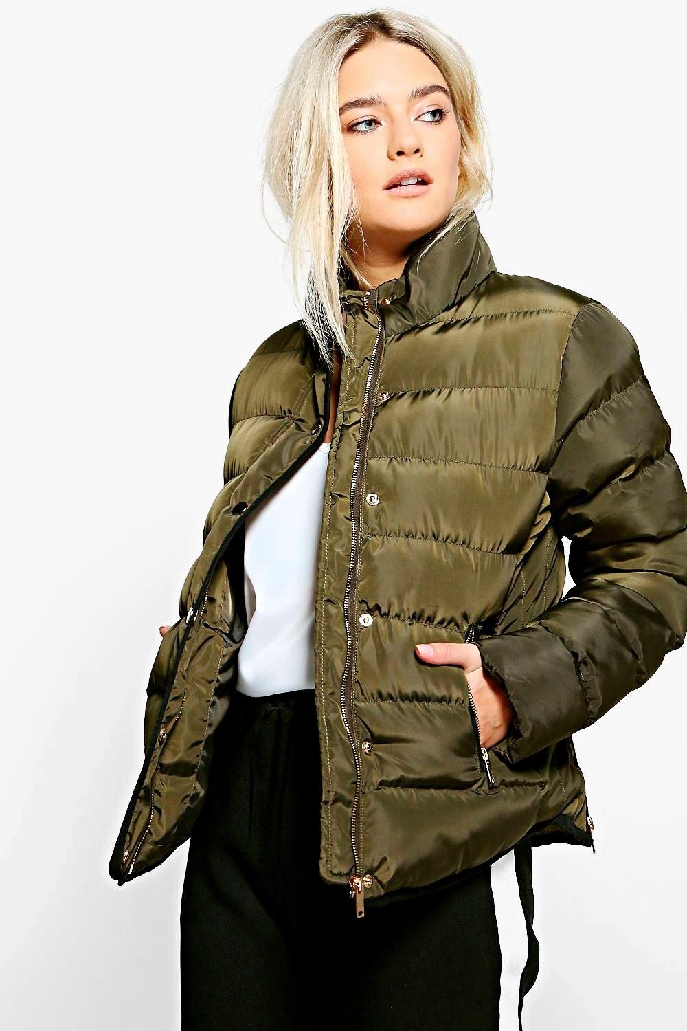 Eliza Short Quilted Piped Jacket