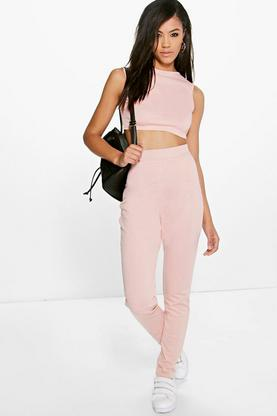 Amelia Stretch Knitted Loungewear Set