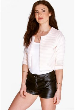 Eleanor Rib Crop Jacket