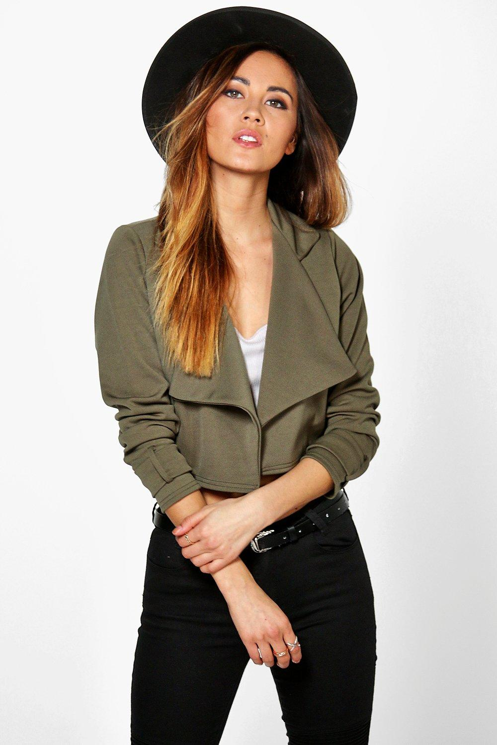 Molly Crop Scuba Trench
