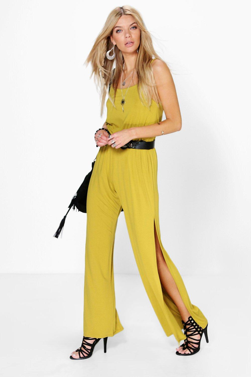 Ruth Split Leg Strappy Jumpsuit
