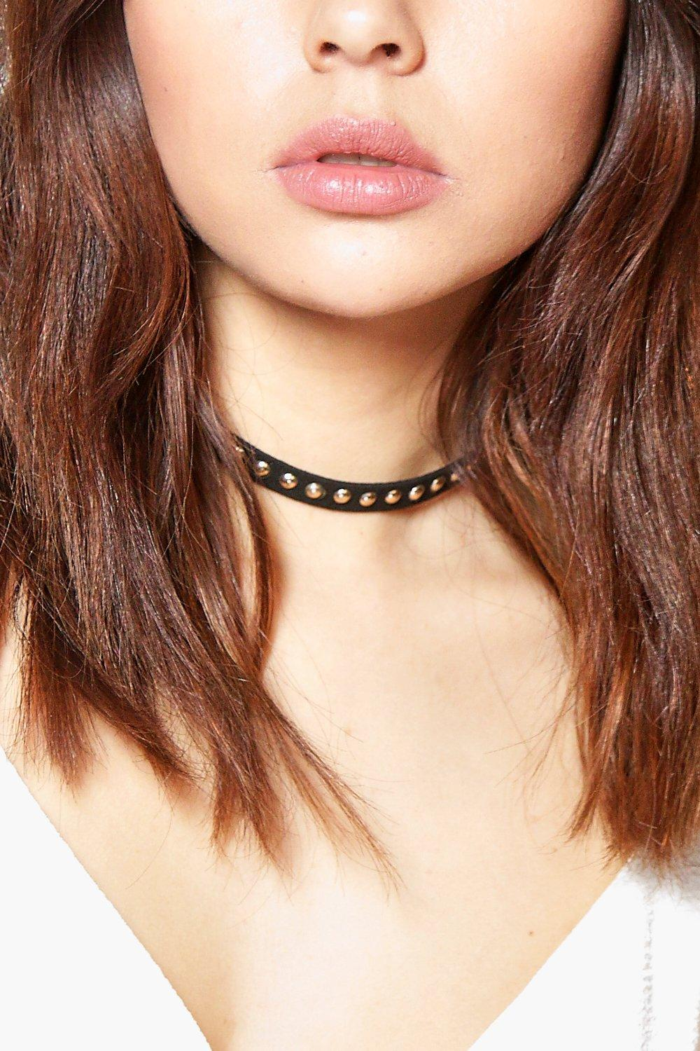 Poppy Studded Choker