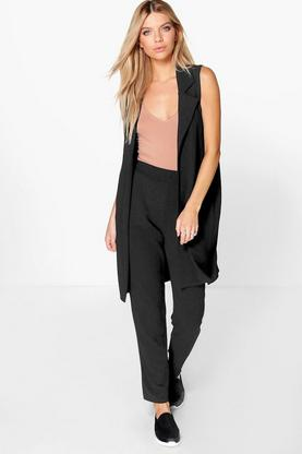 Maya Sleeveless Duster
