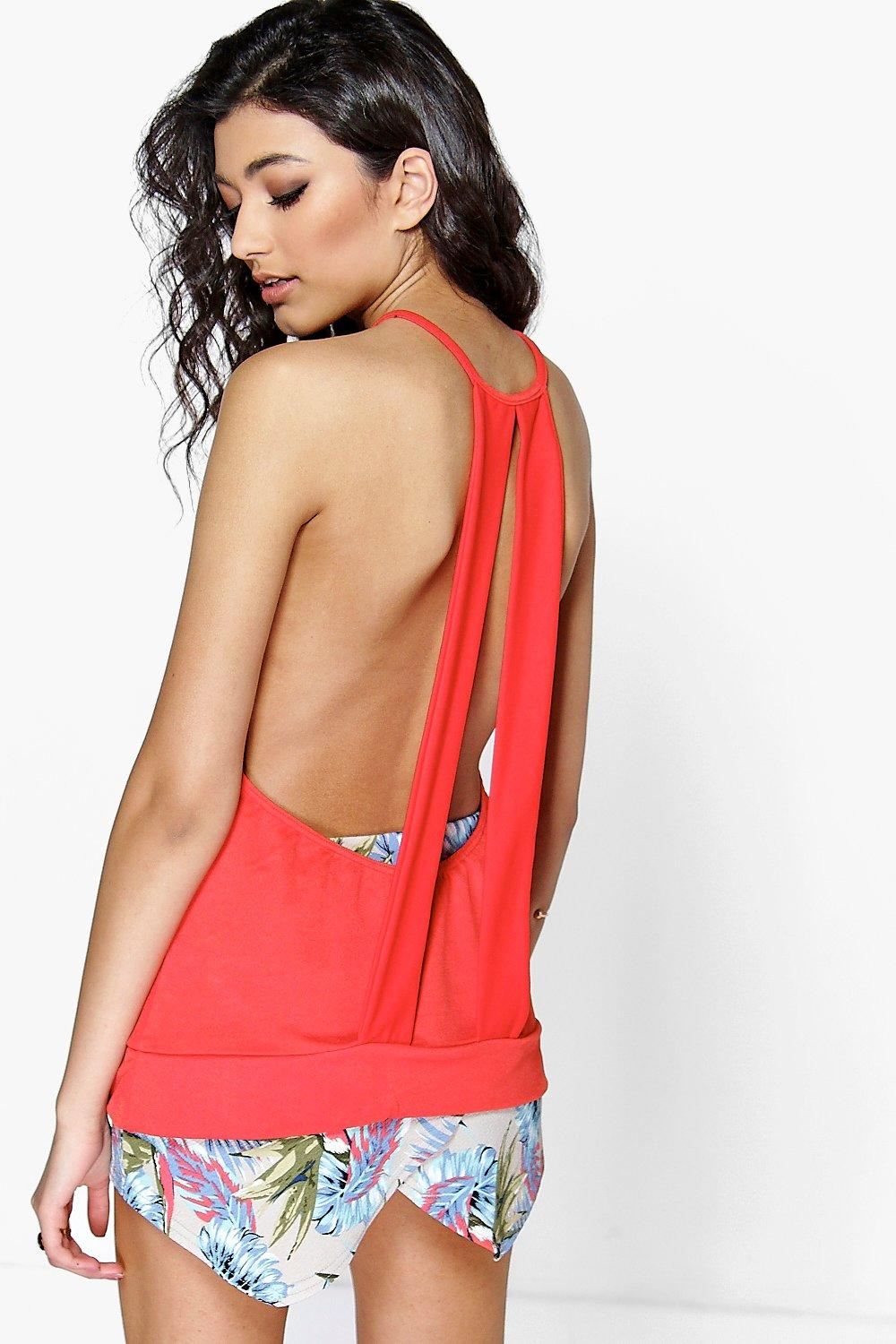 Lexi Double Back Strap Swing Cami