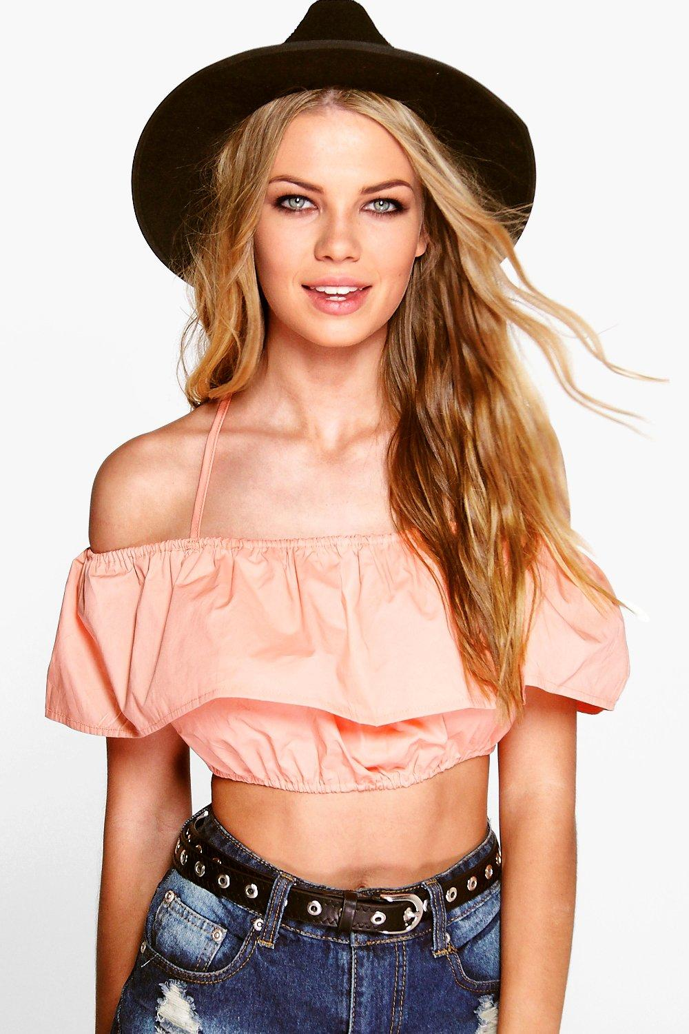 Cara Woven Off The Shoulder Top