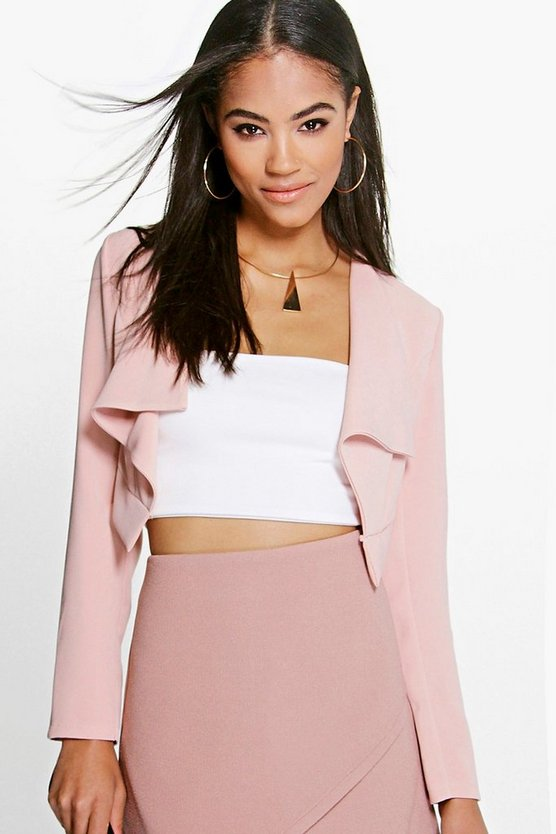 April Waterfall Crop Blazer