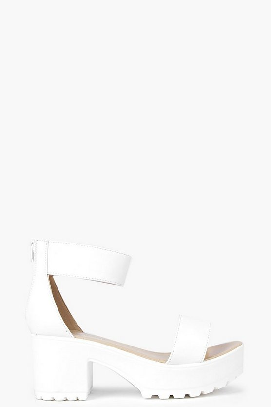 Katie Ankle Strap Cleated Sandal