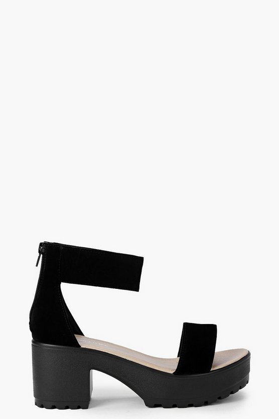 Eliza Ankle Strap Cleated Sandals
